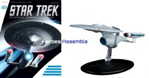 Star Trek Official Starships Collection #046 USS Enterprise NCC-1701-C Eaglemoss